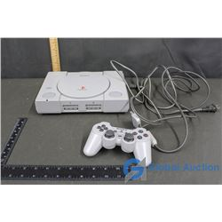 Playstation with Cord and Controller