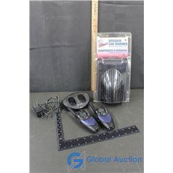 Cobra Walkie-Talkie and Interior Car Warmer