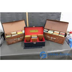 (3) Cases of 8-Track Tapes