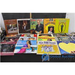 (17) Vinyl Records