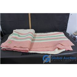 Ayers Pure Wool Blanket Made in Canada