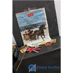 Sears Christmas Wish Book Poster 1978 and Vintage Items