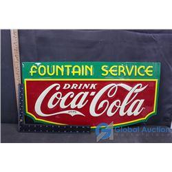 Coca-Cola Repo Sign