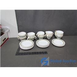 (24) Corelle Coffee Cups and Saucers