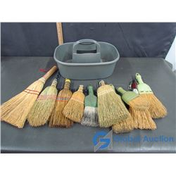Carrying Case Of Whisk Hand Brooms