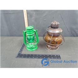 (2) Vintage Lanterns