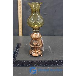 Brass Stove Oil Lamp