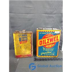 Miracle Power Hi-Temperature Lubricant and Oilzwel Motor Oil