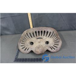 Cast Iron Tractor Seat (Three Circles)