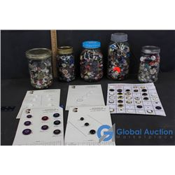 Large Assortment of Buttons