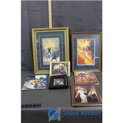 Framed Super Hero Pictures