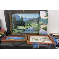 Landscape Nature Picture Decor