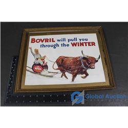 Bovril Framed Picture