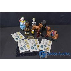Assorted Home Decor and Collectibles