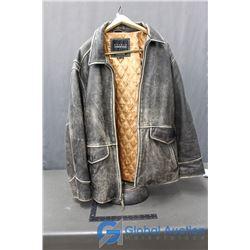 Studio Andrew Marc Large Leather Jacket