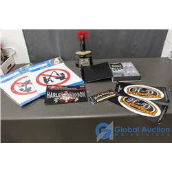 Bar and Harley-Davidson Related Items