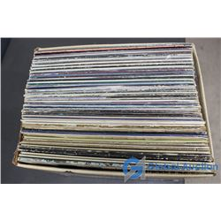 Variety of LP Records