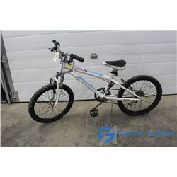 "Girls 20"" Nakamura Mountain Bike (White)"
