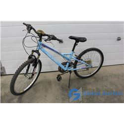 "Women's 24"" Raleigh Mountain Bike (Blue)"