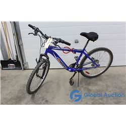 "Men's 24"" Hyper Mountain Bike (Blue)"