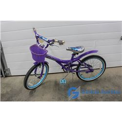 "Girls 20"" Savvy Cruiser BIke (Purple)"