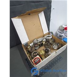 Box Of Oil Lamp Parts