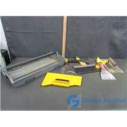 Mudding Tools With Tray