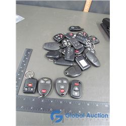 Assorted Generic Key Fobs