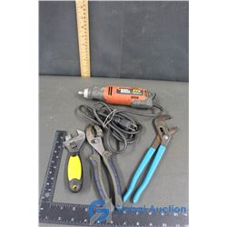 Rotary Tool, Pliers & Wrench
