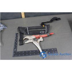 Milwaukee Torque Lock Pliers & Waistband Holder