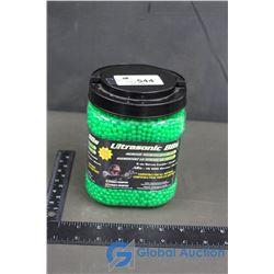 Tub of Ultrasonic BBs 6mm Softair .12g