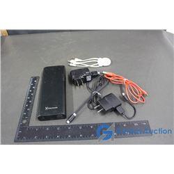 Blackweb Power Bank, Samsung Charger & Cords & Adapter Cord