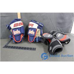 Hockey Gloves & Elbow Pads