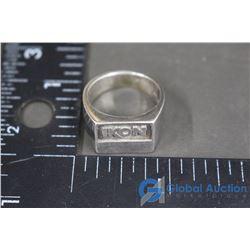 Sterling IKON Ring