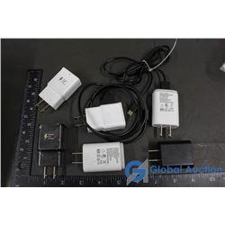 Samsung Adaptors (4), Cords (2)