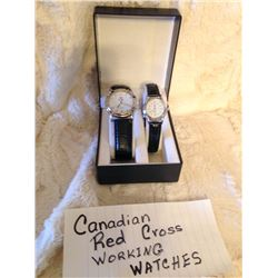 His & Hers Canadian Red Cross Watches
