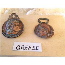 Bronze Greek Clip & Opener