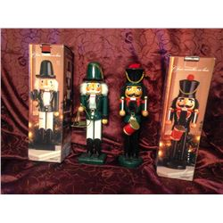 Large Wooden Nutcrackers TWO TIMES THE MONEY