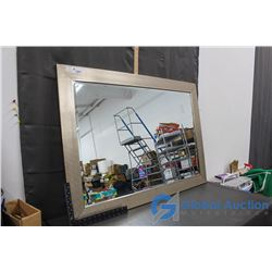 """Framed Mirror, 41"""" x 29"""""""