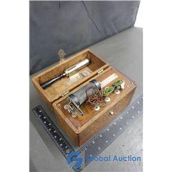 Antique Wood Music Box