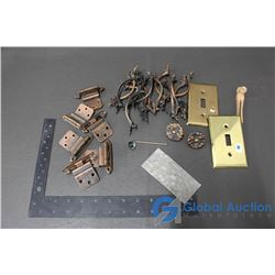 Bag of Copper-look Cabinet Hardware