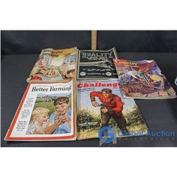 Assorted Vintage Magazines (50's/60's)