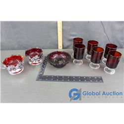 Red Glass Collection