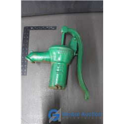 Green Hand Water Pump (Patented 1941)