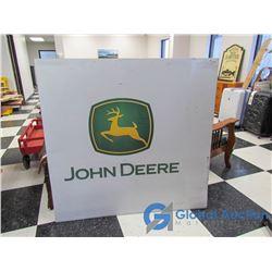 Coroplast John Deere Advertising SIgn
