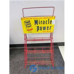 Vintage Miracle Power Wire Display Rack