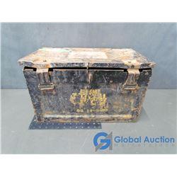 Metal Ammo Box - Stamped 1955