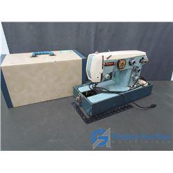 Piedmont Hudson's Bay Company Vintage Sewing Machine w/ Case