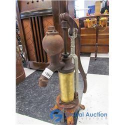 Vintage Brass Cistern Pump