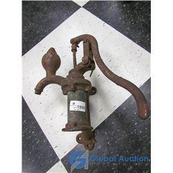 Vintage Wall Mounted Cistern Pump